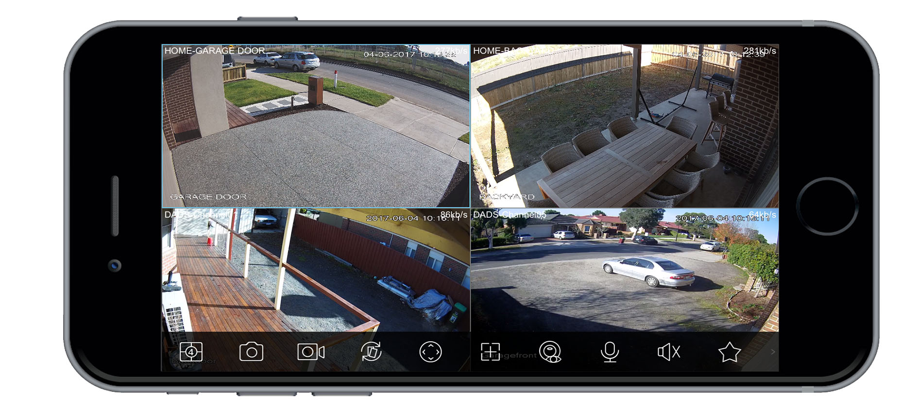 iphone cctv website