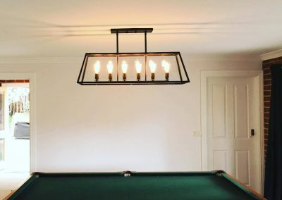 Lighting for Pool Table